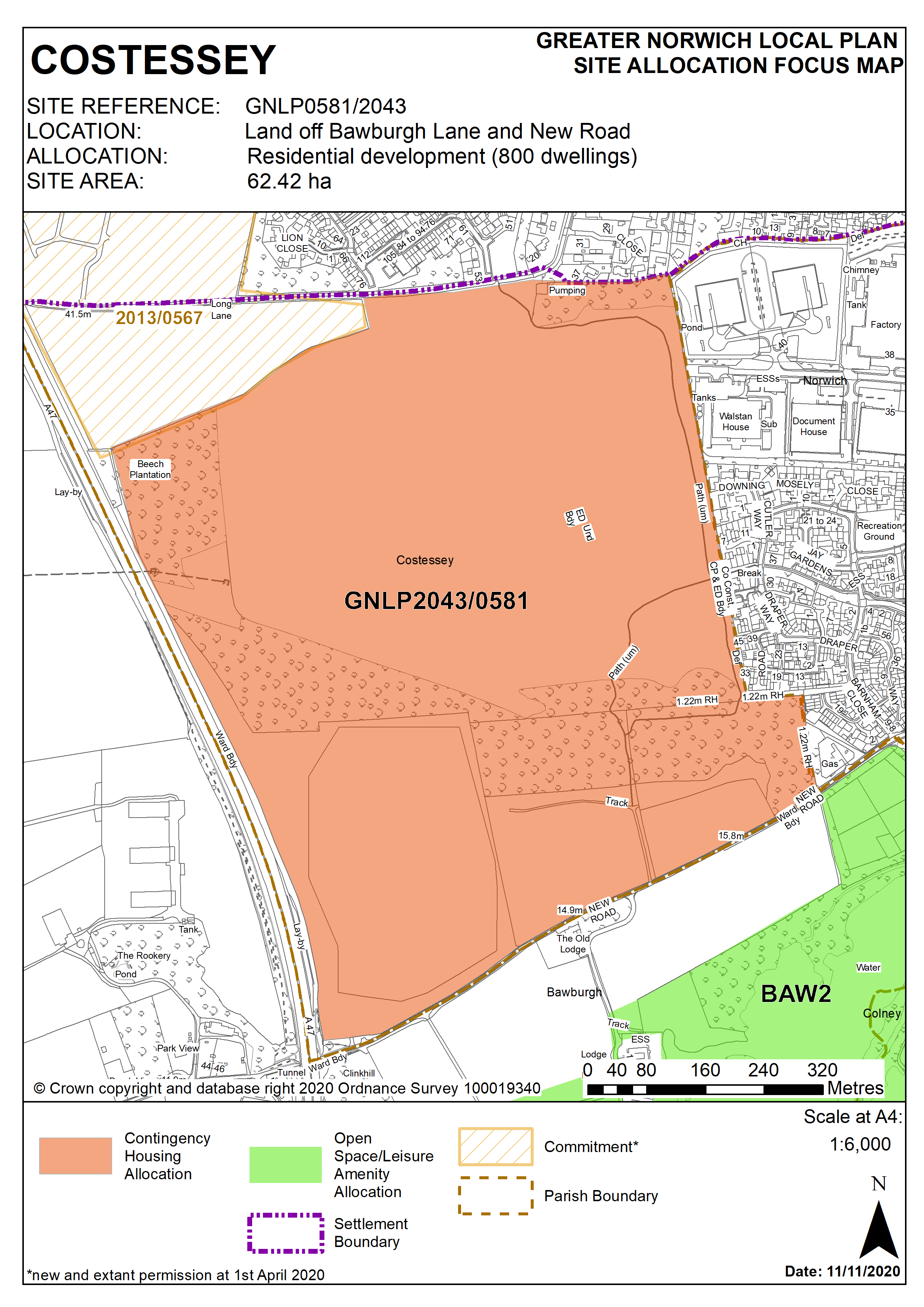 GNLP0581/2043 Policy Map
